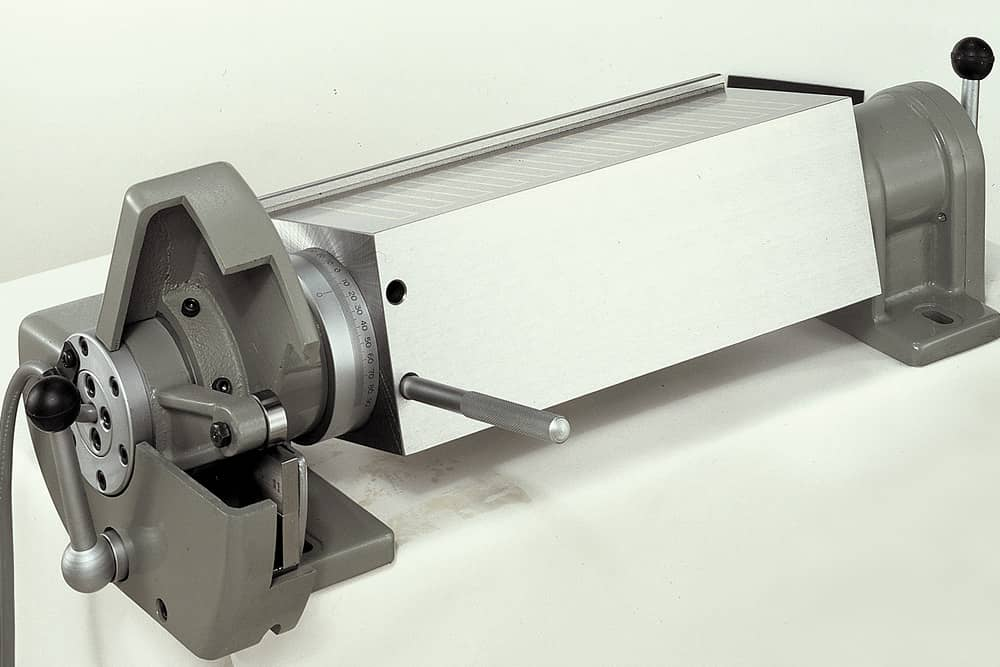 Tilting Electro-magnetic Chuck for surface grinder