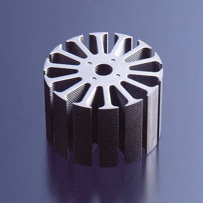 Laminated core