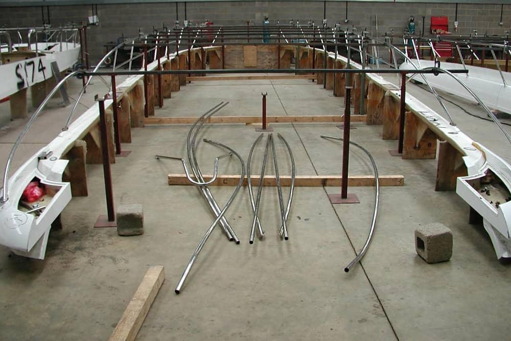 Boat Bow Rail